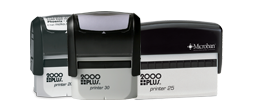 Self-Inking Bank Stamps