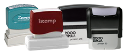 Rectangle Logo Stamps
